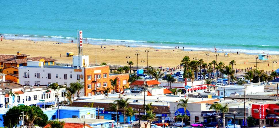 Web Camera Pismo Beach Hotel Downtown Pier California Ca Hotels Motels Accommodations